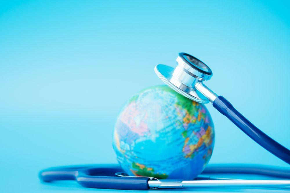 Stethoscope mini globe