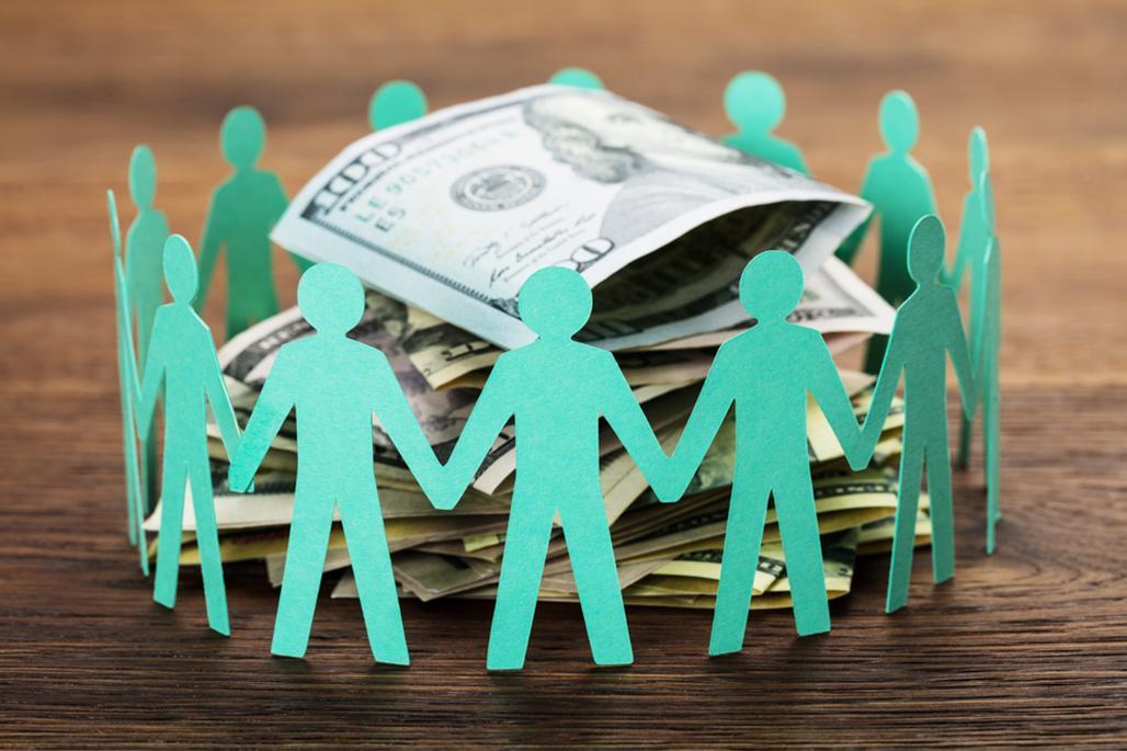 Paper people money