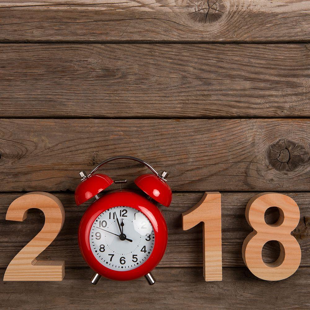 2018 clock