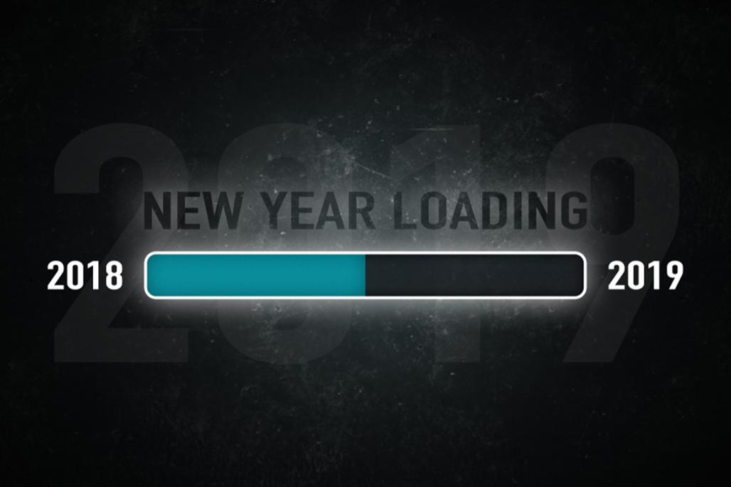 New year loading bar