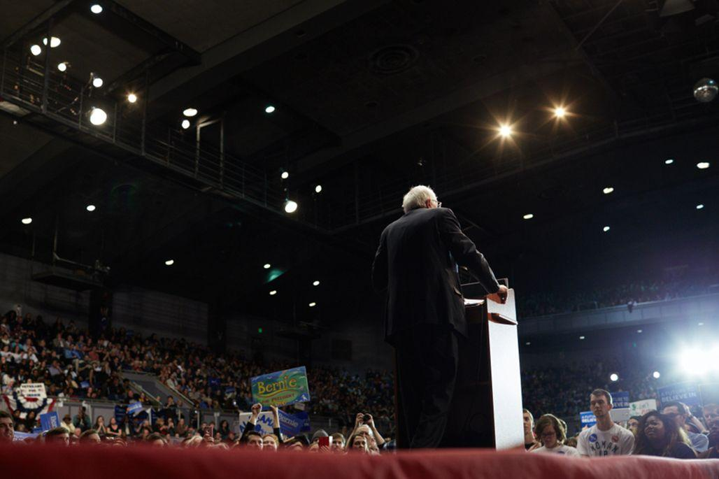 Bernie Sanders back