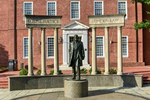 Thurgood Marshall statue Maryland