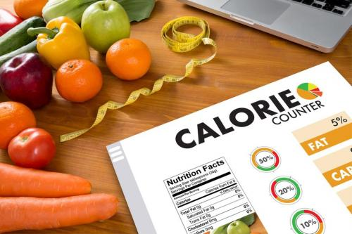 Food calorie chart
