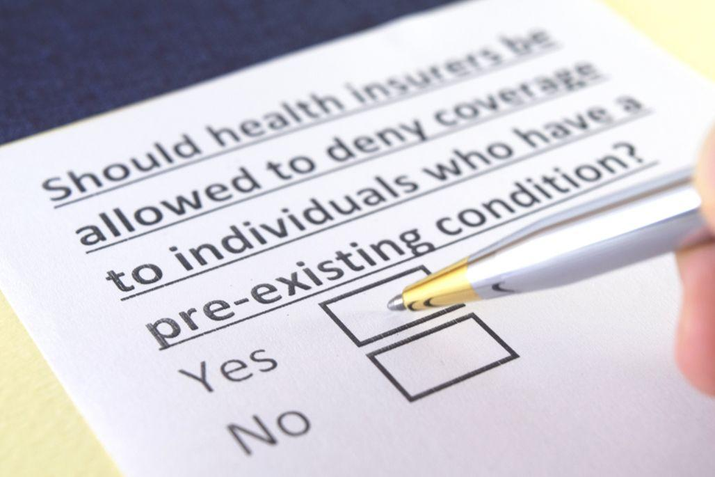 Pre-existing condition application