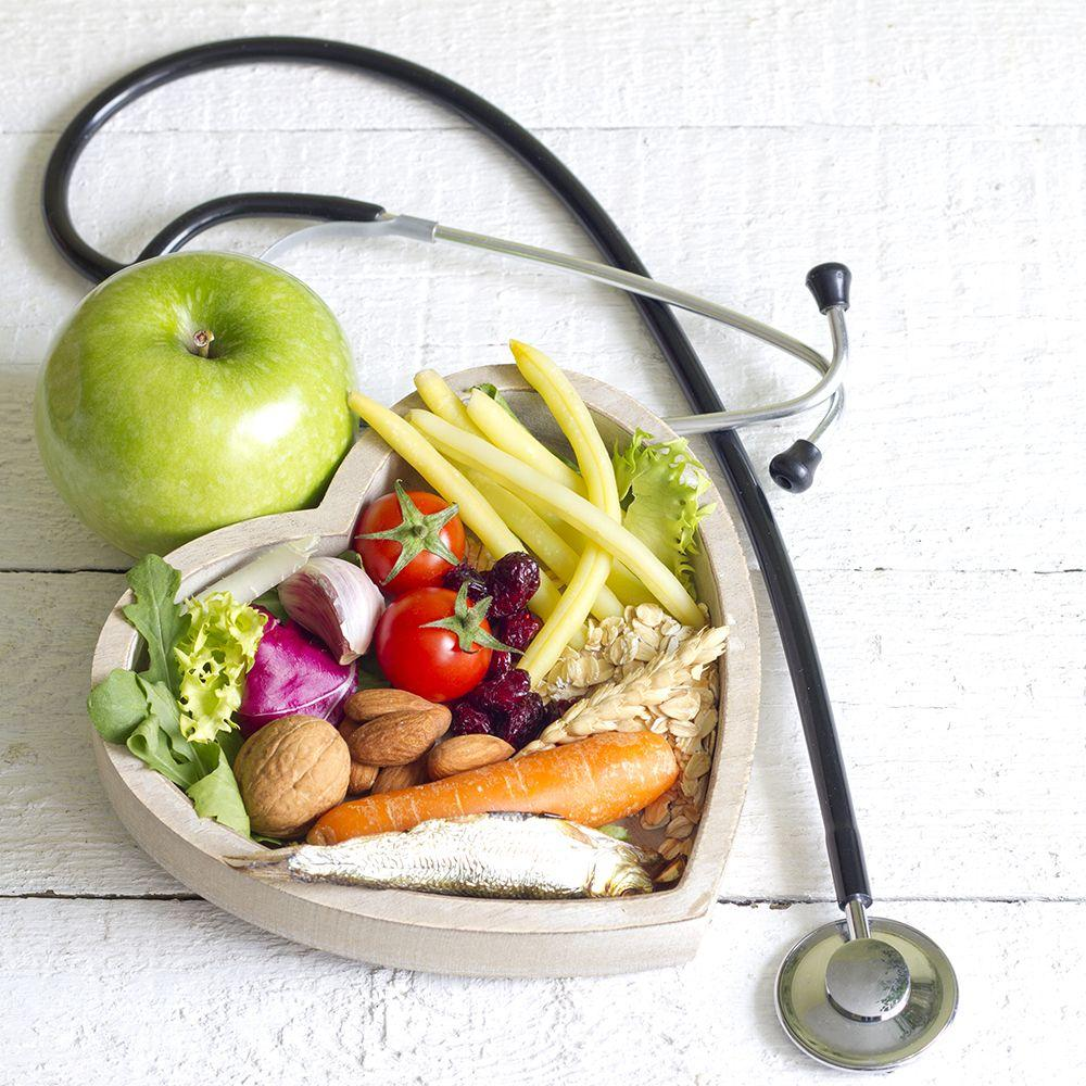 Healthy food stethoscope