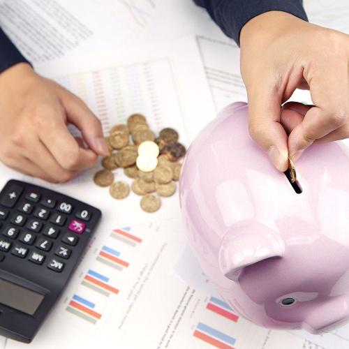 Change in piggy bank