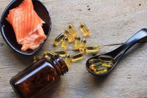 Fish Oil Pills & Salmon