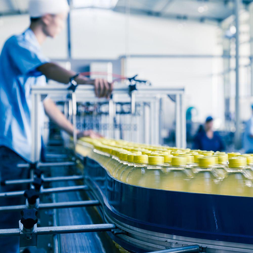 Drink manufacturing line