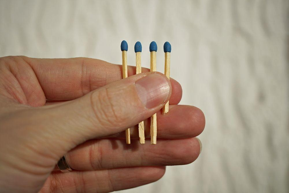 Holding 4 matches