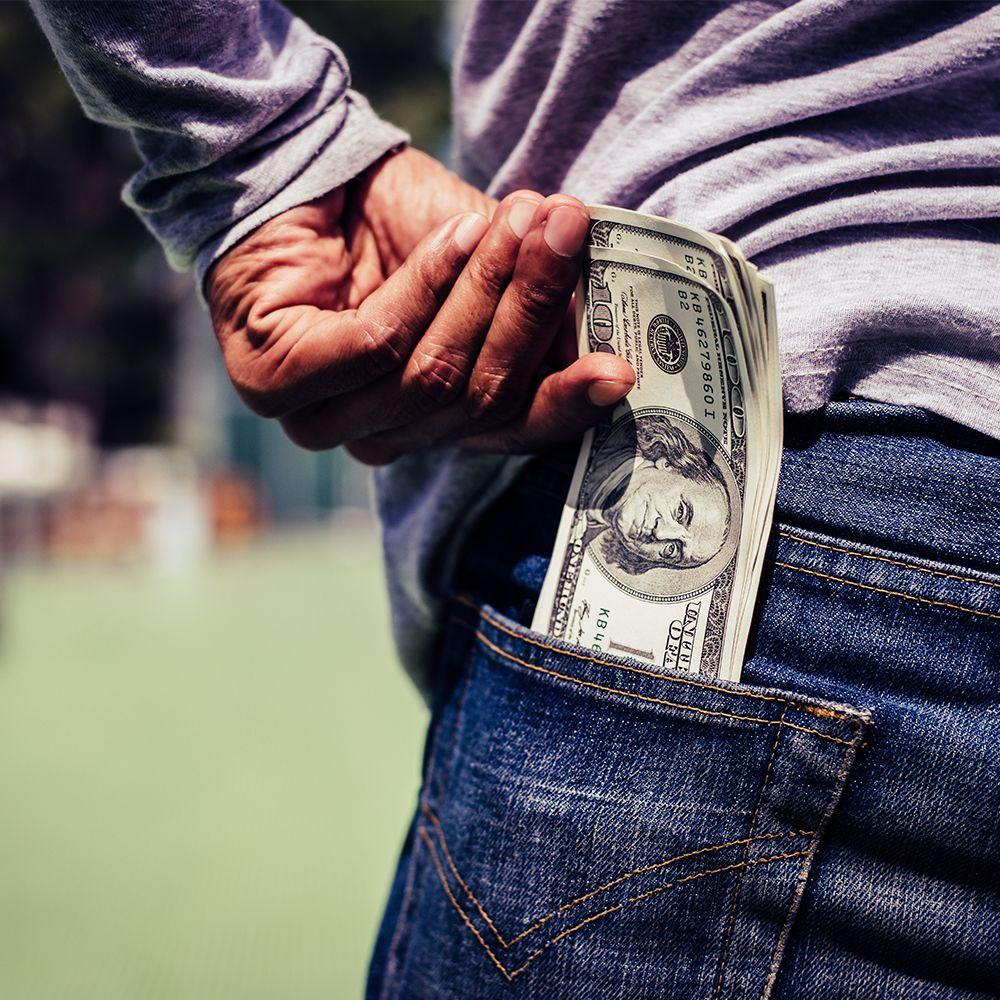 Money back pocket