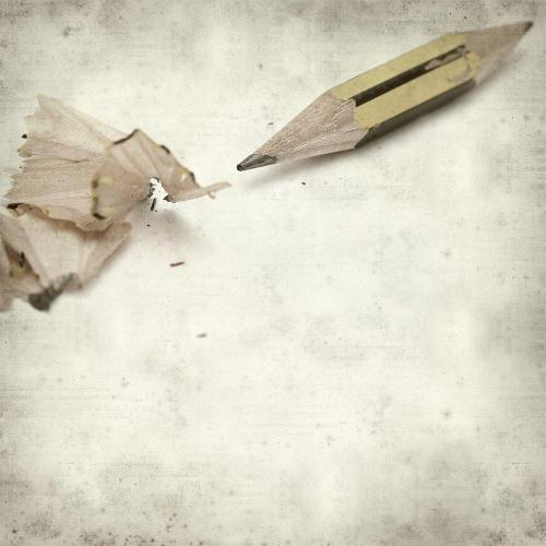 Short pencil sharpening