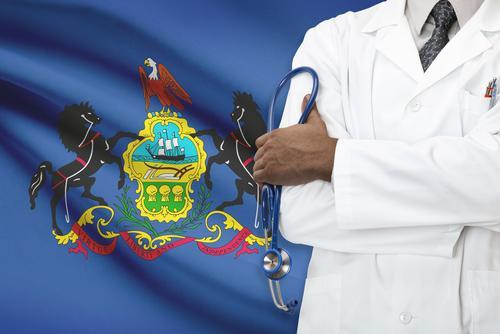 health insurance pennsylvania flag