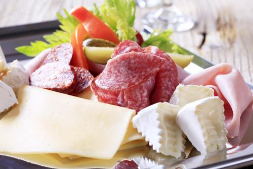Meat cheese spread
